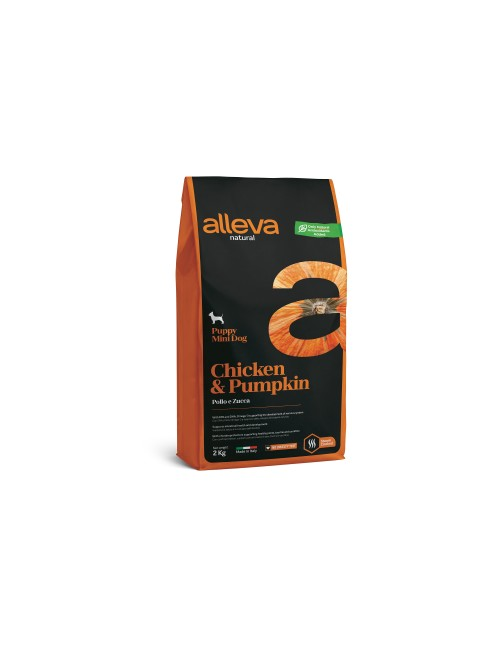 Alleva Natural Puppy Chicken & Pumpkin Mini 2 Kg