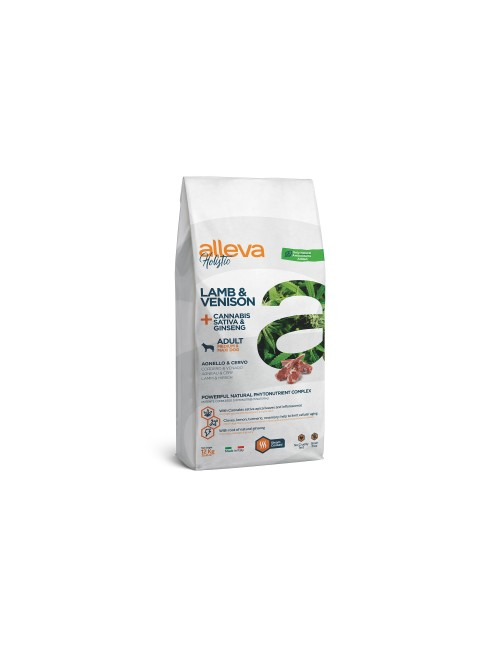 Alleva Holistic Adult Lamb & Venison Medium Maxi 12 Kg