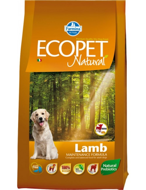 Ecopet Natural Cordero Razas Mini
